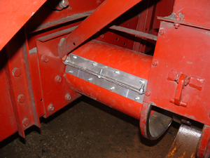 Clean Grain Elevator Auger Cover
