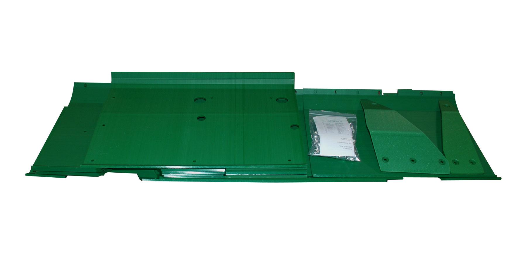 John Deere 925 25' Flex Poly Skid Shoe Kit - Green