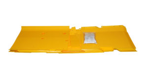 John Deere 915F 15 1/2′ Flex Poly Skid Shoe Kit – Yellow