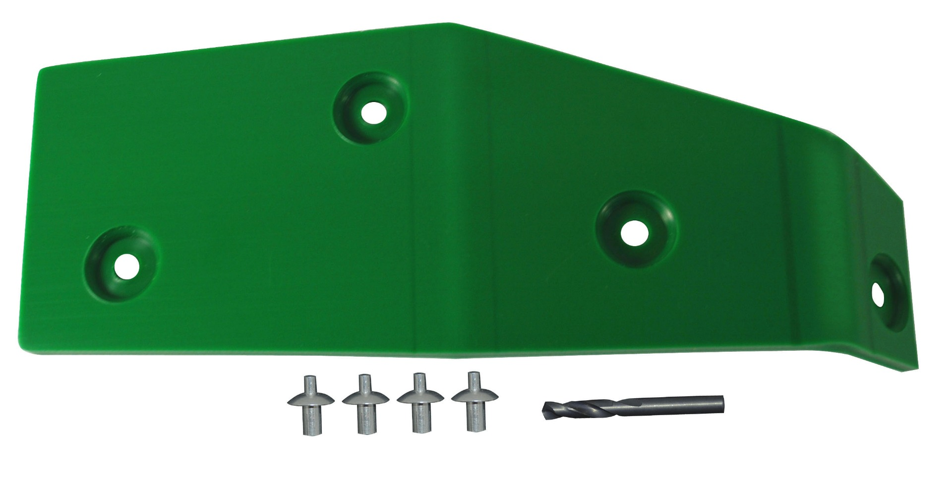 John Deere Flex Head Poly Skid RH 900F End Skid - Green