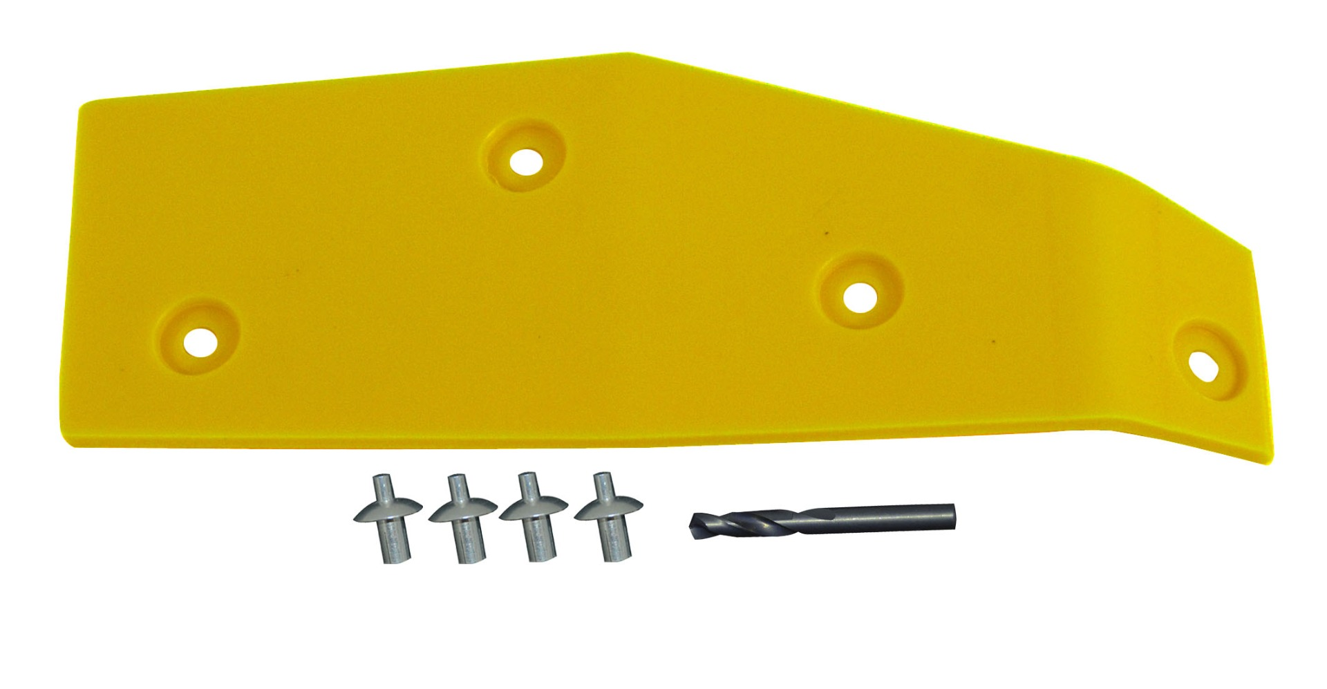 John Deere Flex Head Poly Skid RH 900F End Skid - Yellow