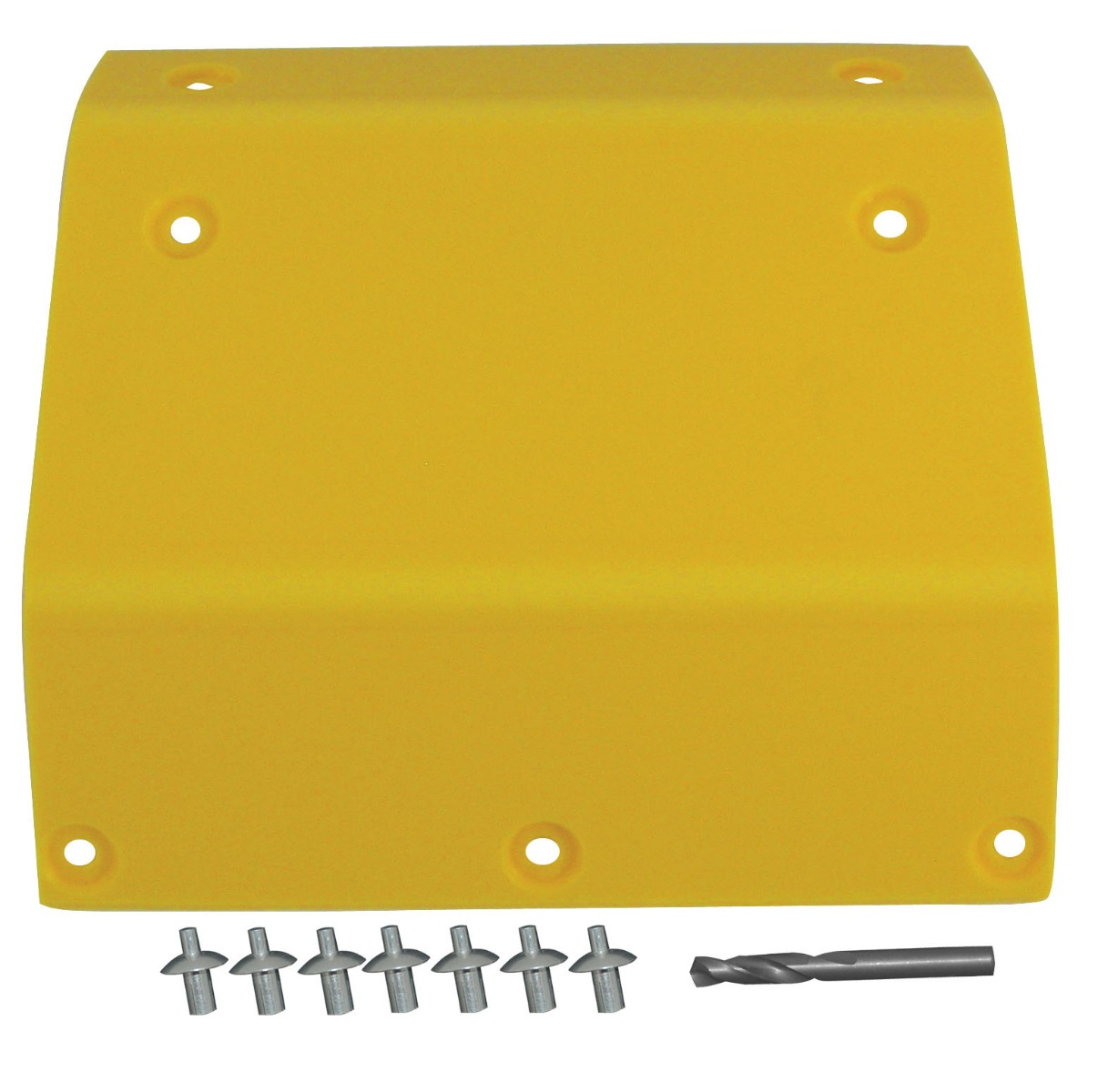 "John Deere 600 Series Raised Cut Panel 11 3/8"" x 11 7/8"" Yellow"