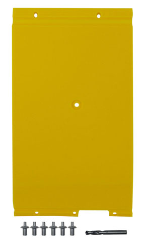 "John Deere Flex Head Poly Skid Panel 8 5/8"" - Yellow"