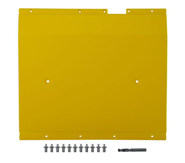 "John Deere Flex Head Poly Skid Panel 17 5/8"" - Yellow"
