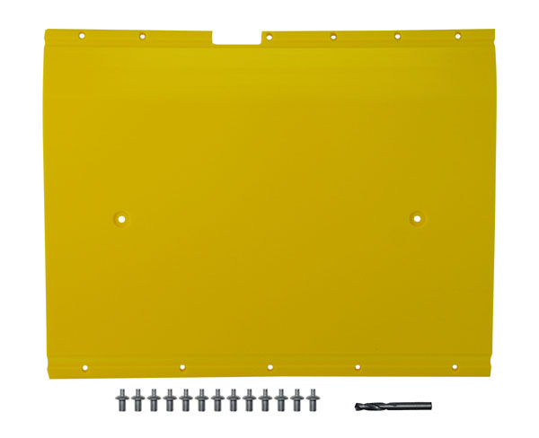 "John Deere Flex Head Poly Skid Panel 20 5/8"" - Yellow"