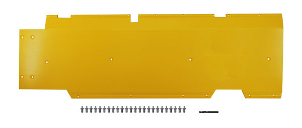 "John Deere Flex Head Poly Skid Panel 50"" - Yellow"