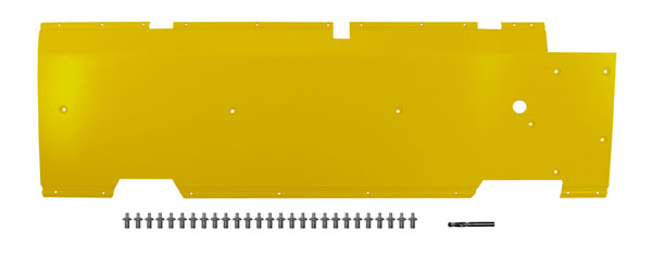 "John Deere Flex Head Poly Skid Panel 52 1/2"" - Yellow"