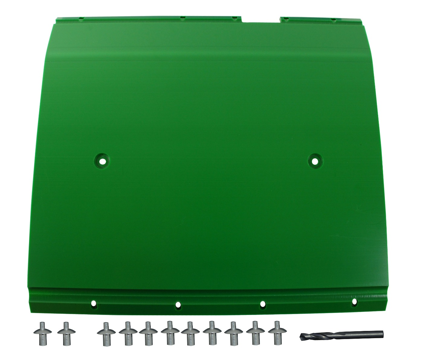 "John Deere Flex Head Poly Skid Panel 17 5/8"" - Green"