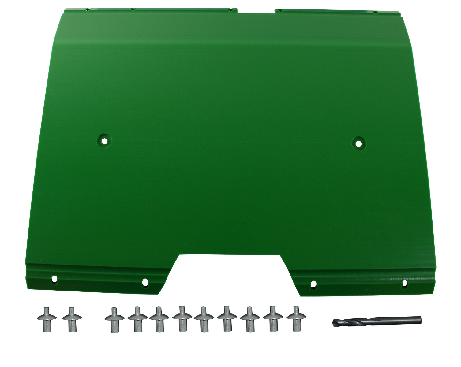 "John Deere Flex Head Poly Skid Panel 20 1/4"" - Green"