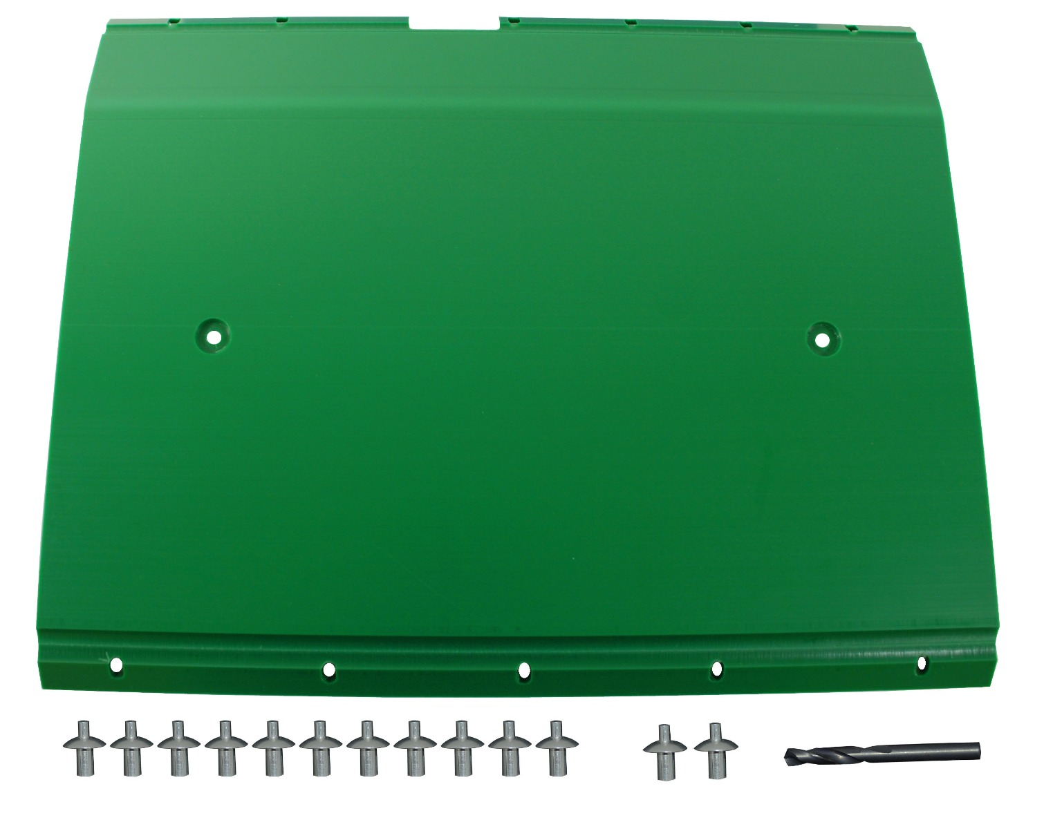 "John Deere Flex Head Poly Skid Panel 20 5/8"" - Green"