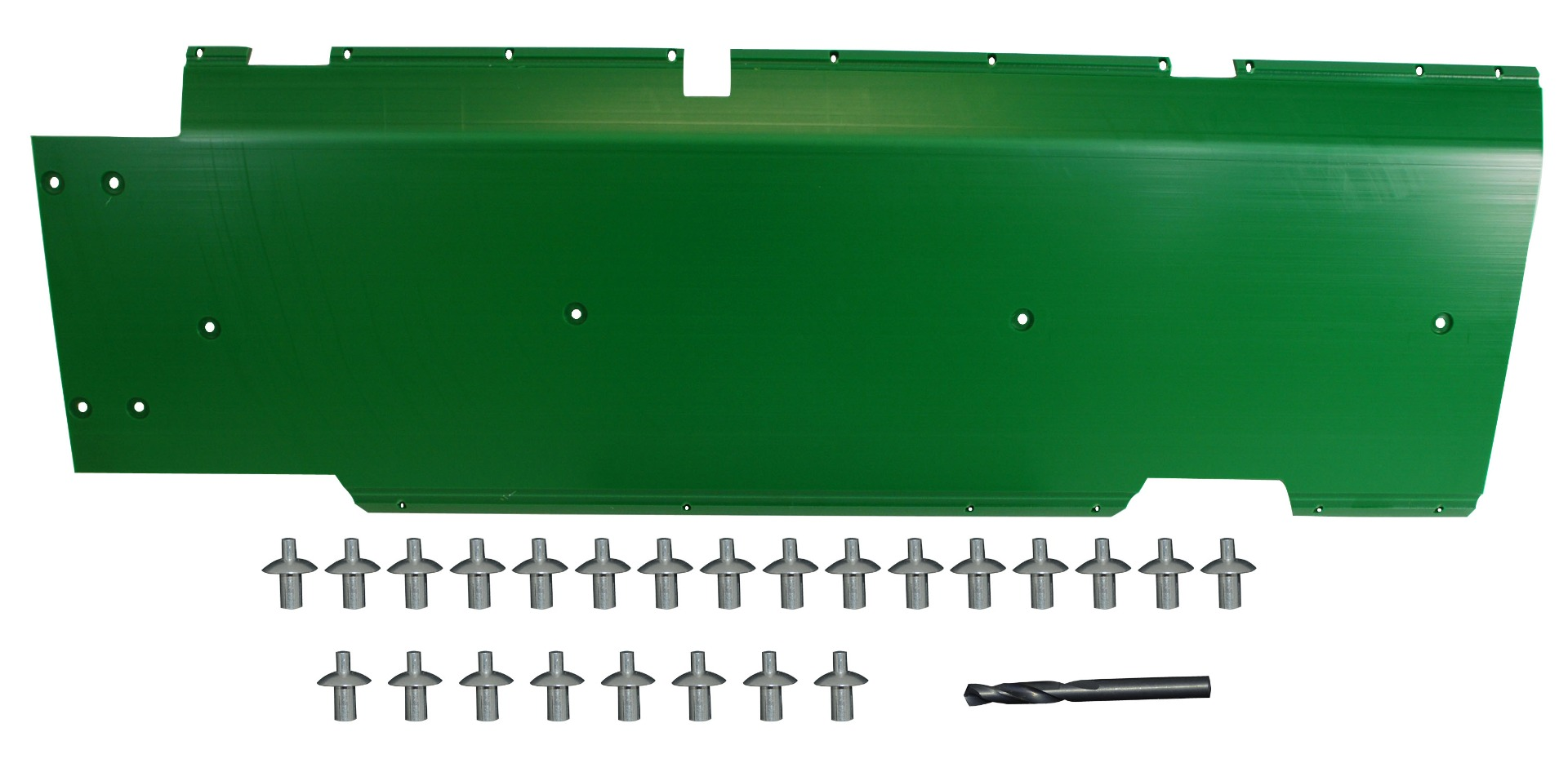 "John Deere Flex Head Poly Skid Panel 50"" - Green"