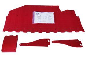 Case IH 3152 Rigid / 3162 Flex 40′ Skid Shoe Kit